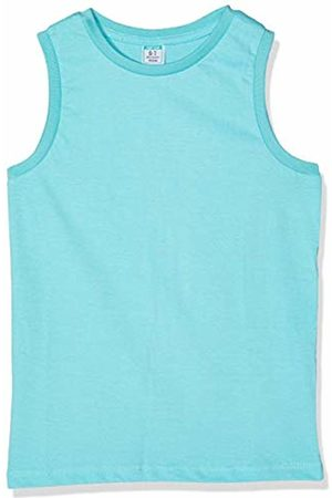 Top Top Boy's cabanite Kniited Tank Top, (Turquoise 36 )