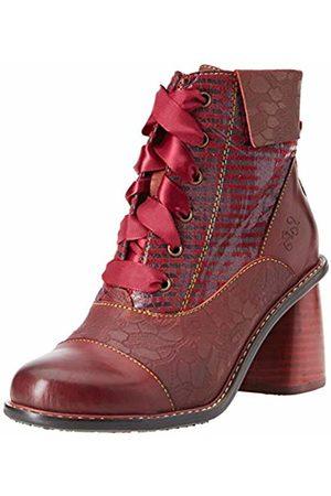 LAURA VITA Women's Evcao 11 Ankle Boots, Wine