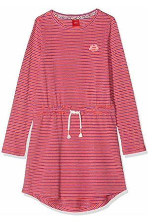 s.Oliver Girl's 53.908.82.2990 Dress, ( Knitted Stripes 45g0)