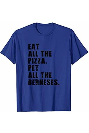 Swesly Dog Eat All The Pizza Pet All The Berneses ADB011i T-Shirt