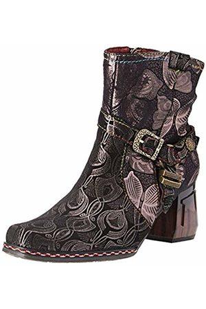 LAURA VITA Women's Gocalo 03 Ankle Boots, Noir