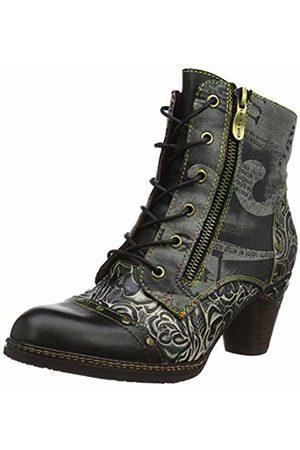 LAURA VITA Women's Alcizeeo 12 Ankle Boots, Noir