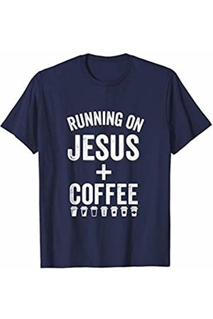 Running On Jesus Stuff Running On Jesus And Coffee Christian Caffeine