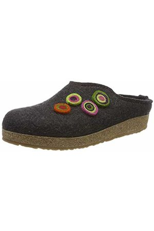HAFLINGER Unisex Adults' Grizzly Kanon Open Back Slippers