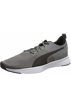 Puma Unisex Adults' Flyer Runner Running Shoes, Charcoal Gray - Turquoise