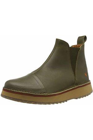 Art Women's 1601 Grass Kaki/Orly Ankle Boots