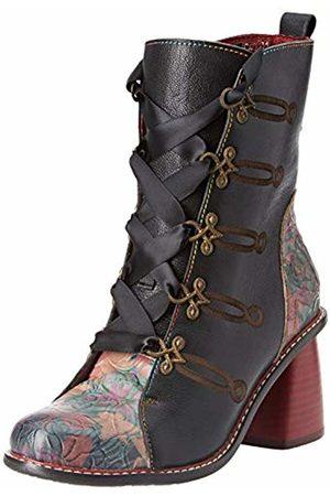 LAURA VITA Women's Evcao 01 Ankle Boots, (Noir)