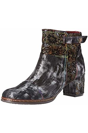 LAURA VITA Women's Gacmino 04 Ankle Boots, Noir