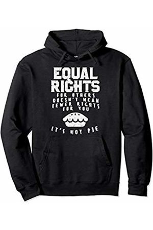 BoredKoalas Equal Rights Pie Feminist Strong Womens March Gift Pullover Hoodie