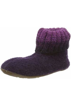 Haflinger Slippers - Unisex Kids' Everest Iris Open Back Slippers