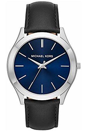 Michael Kors Mens Analogue Quartz Watch with Leather Strap MK8620