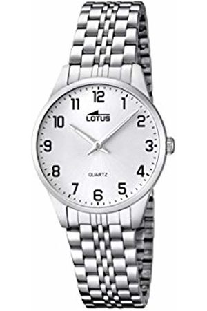 Lotus Women's Quartz Watch with Dial Analogue Display and Stainless Steel Bracelet 15884/1