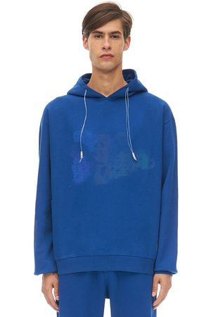 KLSH - KIDS LOVE STAIN HANDS Printed Cotton Jersey Sweatshirt Hoodie
