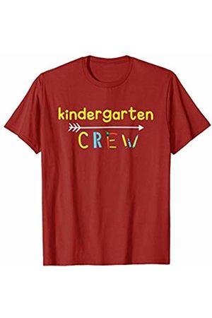 Back To School Apparel by BUBL TEES Kindergarten Crew Teacher Back To School T-Shirt