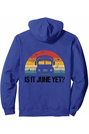 Bus School Shirt Co. Bus School Outfit For Kids Driver Student Funny Retro Summer Pullover Hoodie