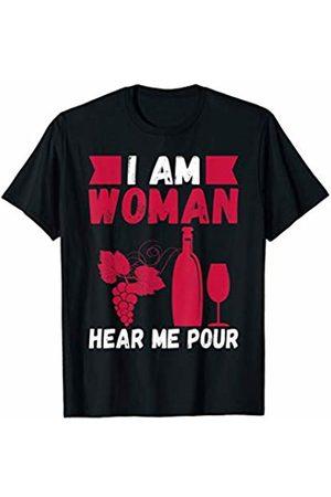 That's Life Brand I AM WOMAN HEAR ME POUR T SHIRT