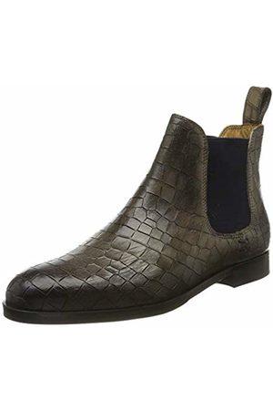 Melvin & Hamilton Women's Susan 10 Chelsea Boots, Grau ( Crock-Grigio-Elastic-Navy-Lining-Rich Tan-Insole Leather-HRS- )