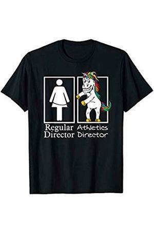 Floss Dance Crew by Crush Retro Athletic Director Regular Unicorn Sports Office Team Gifts T-Shirt