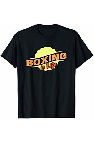 Gifts and Gear For Athletes Boxing Is Life Cool Sports Lover Athlete Competitor Gift T-Shirt