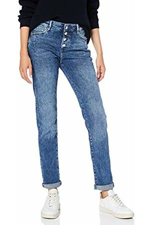 s.Oliver Women Straight - Women's 04.899.71.5367 Straight Jeans, Denim Stretch 53z7