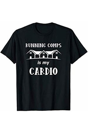 Real Estate Apparel & Gifts HHWCo. Real Estate Agent Running Comps Houses Funny Realtor Quote T-Shirt