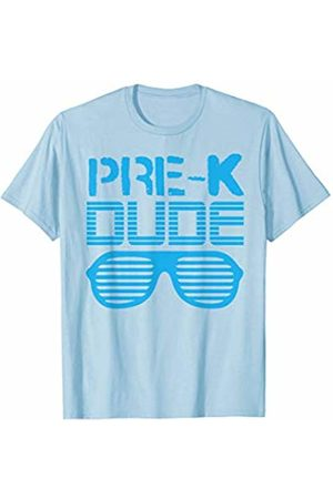 Back To School Apparel by BUBL TEES Pre-K Dude Back To School Gift T-Shirt