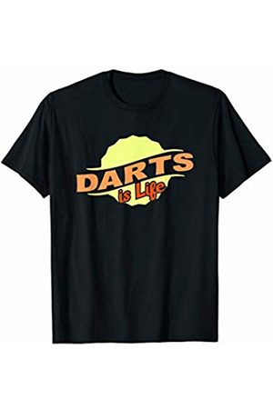 Gifts and Gear For Athletes Men T-shirts - Darts Is Life Cool Sports Lover Athlete Competitor Gift T-Shirt