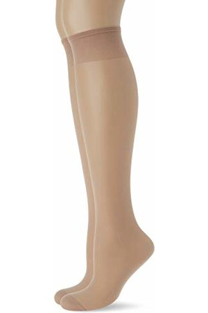 Levante Women's Extra Micro 50 Super Maxi XXL 100% Made in Italy Hold-Up Stockings