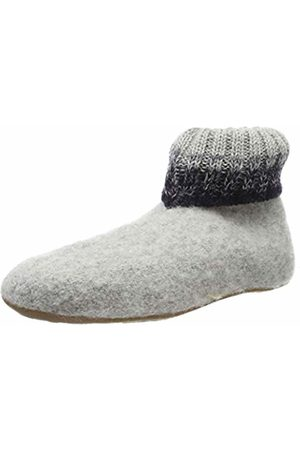 Haflinger Unisex Adults' Everest Iris Open Back Slippers