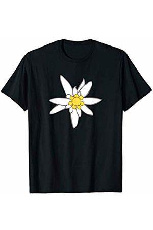 Jimmo Designs Edelweiss Flower Oktoberfest Nature Lovers T-Shirt