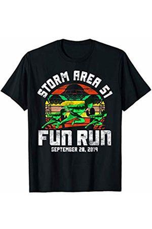STORM AREA 51 SHIRT STORM AREA 51 FUN RUN shirt Running Runner FUNNY ALIEN MEME T-Shirt
