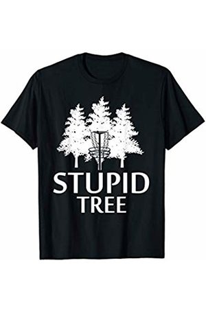 Disc Golf Loves Shirt Gift Stupid Tree Disc Golf T-Shirt | Gift Funny Frisbee Golf Tee T-Shirt
