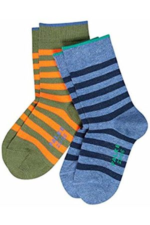 Falke Boys' 2er Set Double Stripe Socks