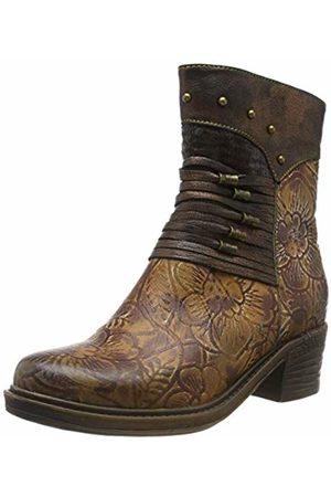 LAURA VITA Women's Gicrono 02 Ankle Boots, Café