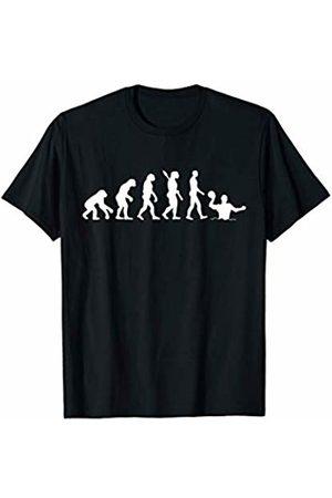Swim Loves Shirt Gift Water Polo Evolution T-Shirt Funny Swimmer Cool Gift T-Shirt