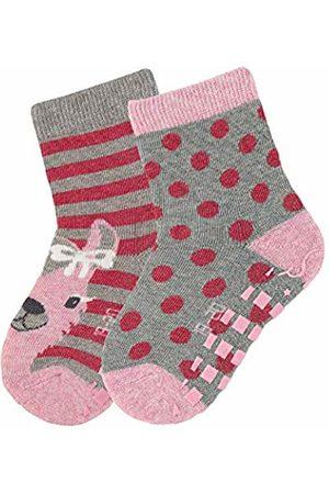 Sterntaler Baby Girls' Abs-söckchen Dp Casual Socks