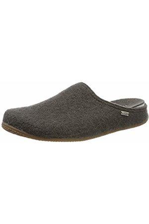 Living Kitzbühel Men's Pantoffel Unifarben mit Fußbett Open Back Slippers 12.5 UK