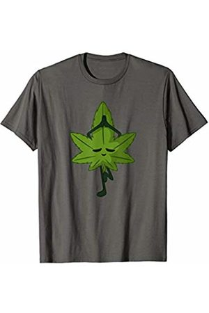 Funny Yoga Marijuana Shirts Cannabis Leaf Yoga Pose | 420 | Yoga Marijuana T-Shirt