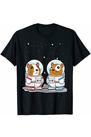 Novelty Guinea Pig Clothing & Gifts Co. Guinea Pig Space Astronauts for Cavy Lovers T-Shirt
