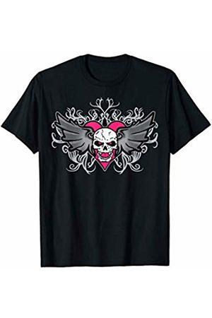 WWE Bret Hart Logo Winged Skull Tattoo