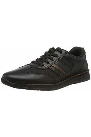 Rieker Men's B5131-00 Low-Top Sneakers, Schwarz/Kastanie 00