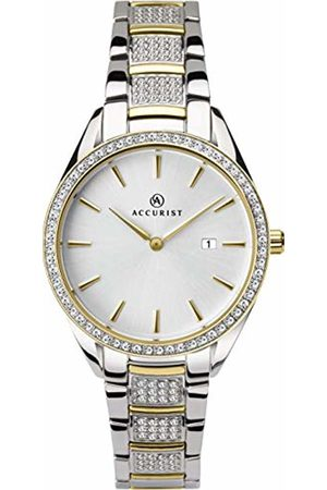 Accurist Womens Analogue Classic Quartz Watch with Solid Stainless Steel Strap 8218