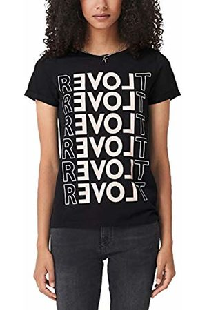 s.Oliver Women's 2004829003 T-Shirt, ( Placed Print 99d0)