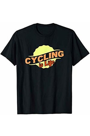 Gifts and Gear For Athletes Cycling Is Life Cool Sports Lover Athlete Competitor Gift T-Shirt