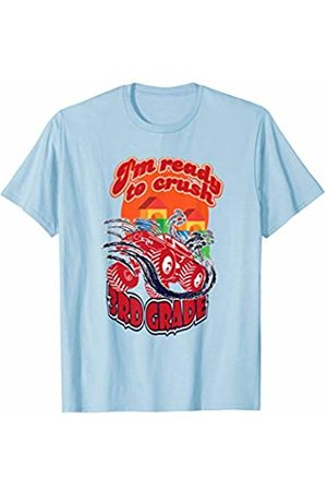 Back To School Apparel by BUBL TEES Women T-shirts - 3rd Grade Monster Truck Back to School T-Shirt