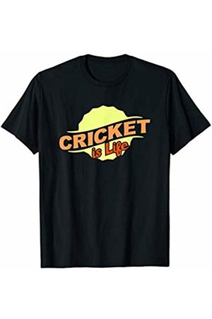 Gifts and Gear For Athletes Cricket Is Life Cool Sports Lover Athlete Competitor Gift T-Shirt