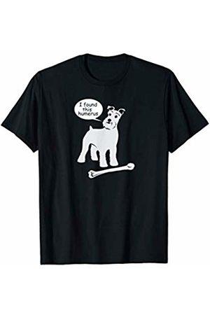 NickerStickers I found this humerus | Schnauzer Dog T-Shirt