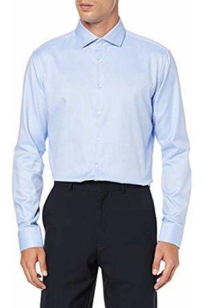 Seidensticker Men's X-Slim Fit Langarm mit Spread Kent-Kragen Bügelleicht Struktur-100% Baumwolle Formal Shirt, ( 12)