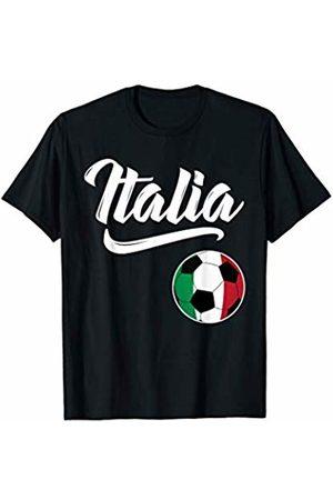 Italia Soccer Italy Italian Football Gifts Italia Soccer Italy Flag Italian Football Italiano Gifts T-Shirt