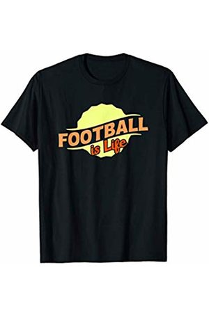 Gifts and Gear For Athletes Football Is Life Cool Sports Lover Athlete Competitor Gift T-Shirt